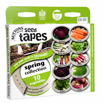 Seed Tapes - Spring Harvesting Collection