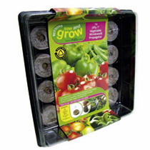 Jiffy 7 Vegetable Propagators and Refill Pack