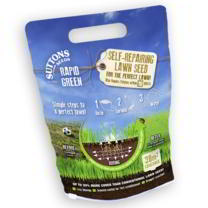 Rapid Green 2 Self-Repairing Lawn Seed - BUY 2 GET 1 FREE!
