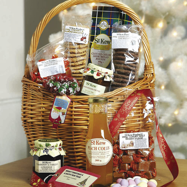St Kew Celebration Basket