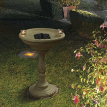 Solar Birdbath Fountains