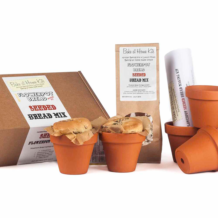 Flowerpot Kit - Bread Making Kit