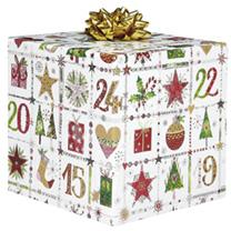 Christmas Roll Wrap - Festive Square
