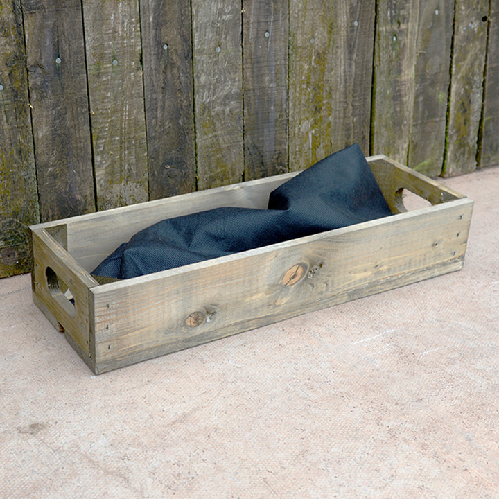 Personalised Empty Crate 1 Slat - 53 x 18 x 9cm