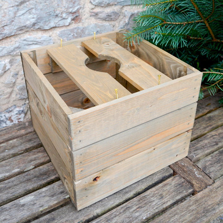 Personalised Christmas Tree Crate