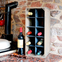 Wine Crate - Woodstain