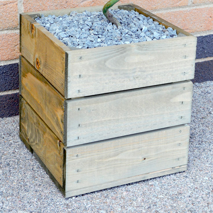 Bay twisted stem tree free crate gifts for him gift for Gardening gifts for him