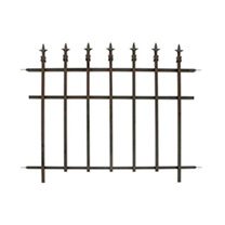 Panacea Classic Finial Fence - Pack of 2