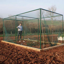 Walk-in Fruit Cage with Door - 2 x 4m