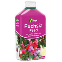 Easy-to-use liquid feed. Suitable for fuchsias grown in tubs, planters and hanging baskets. Apply weekly during the growing season. 500ml.