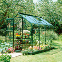 Halls Highgrove Greenhouse & Base - 8' x 6'