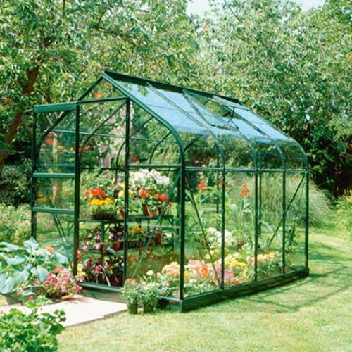 Halls Highgrove Greenhouse & Base - 4' x 6'