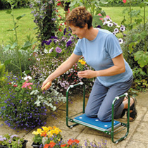 We all know that gardening though enjoyable is very hard work! Make it that bit easier with the Garden Kneeler Seat! Use as a comfortable foam padded