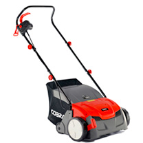 "Cobra 13"" Electric 2-in-1 Scarifier/Aerator"
