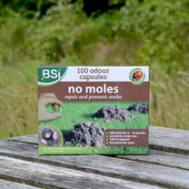 'No Moles' Mole Repellent Capsules