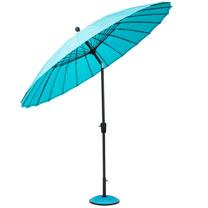 Parasol Geisha - Aqua