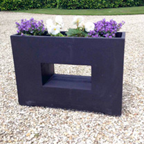 Modern Rectangular Garden Planter