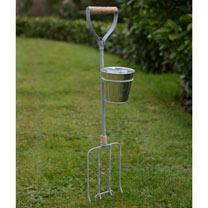 Garden Fork & Spade Flower Pot Holders