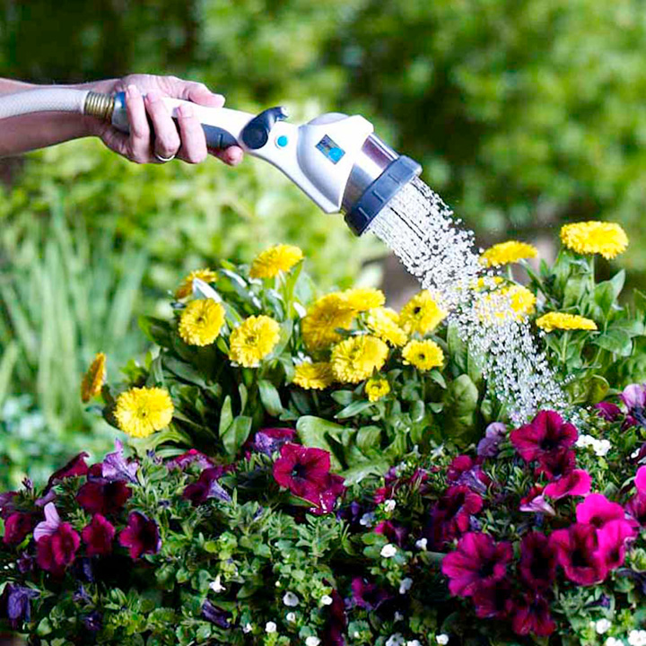 Pure Rain Handheld Watering Gun Plus