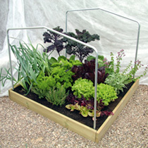 Raised Bed Support Hoops & Cover