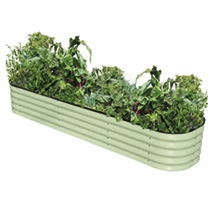 4 in 1 Modular Metal Raised Bed Sage