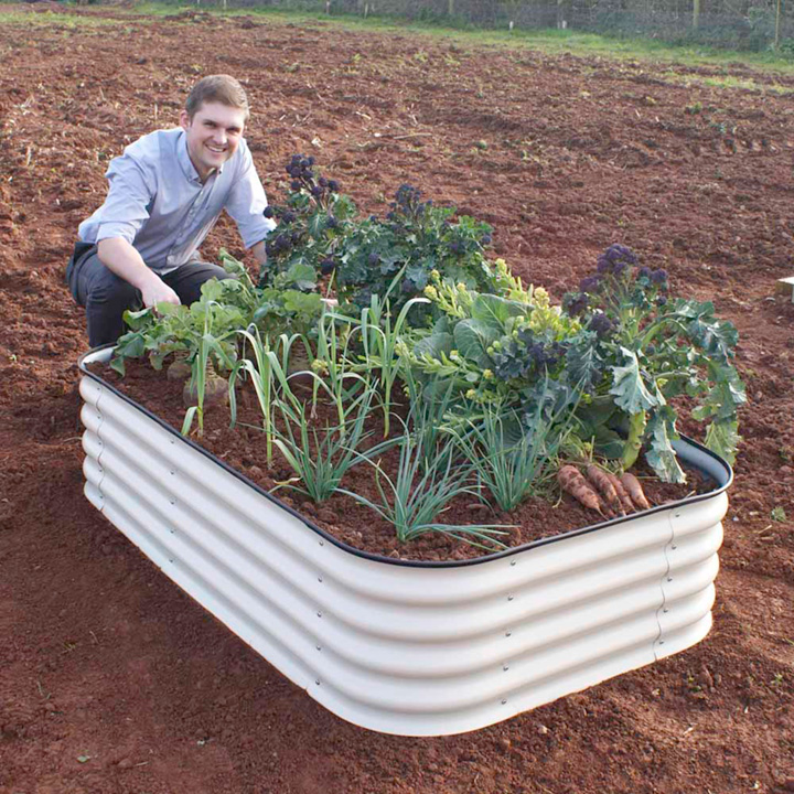 4-in-1 Modular Metal Raised Bed