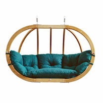 Stylish in appearance and wonderfully comfortable in use, these luxury swing seats are the place to relax. Beautifully crafted from Sprucewood, they a