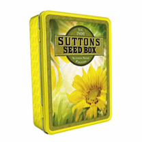 Sunflower Seed Tin from Suttons