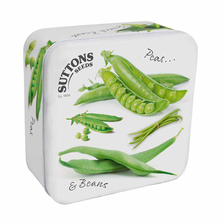 Collectable Seed Tin - Pea & Bean Design
