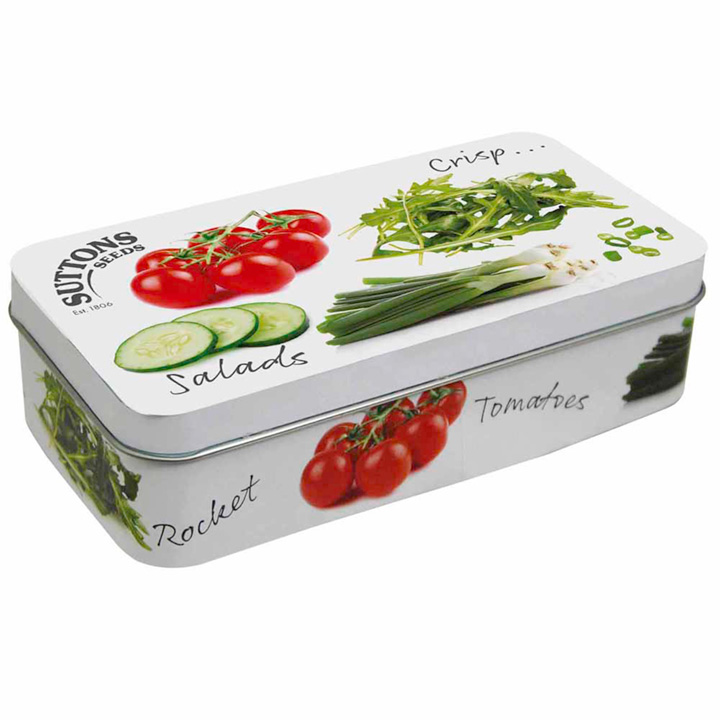 Collectable Seed Tin - Salad Design