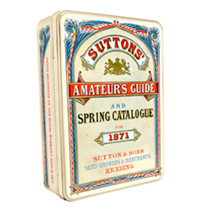 Suttons Heritage Seed Tin & Contents
