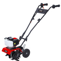 Click to view product details and reviews for Cobra 44cc 2 Stroke Mini Tiller.