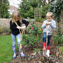 Enjoy spending time in the garden with your children now, and encourage them to take up the hobby in the future. Good quality, scaled down versions of