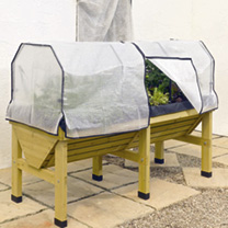 Frame & Polyethylene Cover for the VegTrug 1m