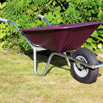 Clipper Wheelbarrow - Burgundy