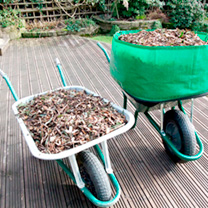 Increase the capacity of your wheelbarrow by up to 300%! The wheebarrow booster can be attached in seconds and can be used throughout all seasons. And