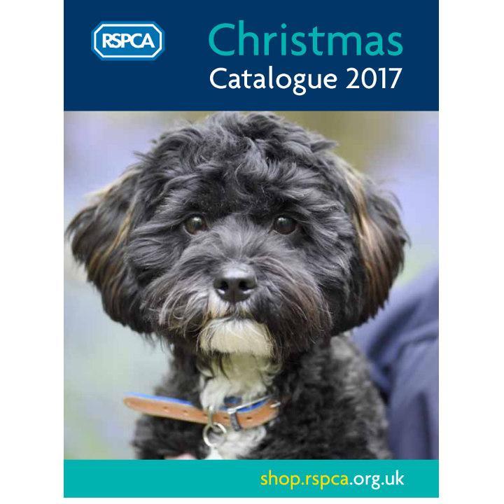 RSPCA Christmas 2017 Catalogue
