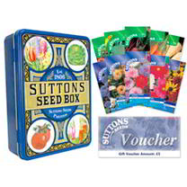 Seed Tin, Seeds, Voucher