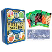 Seed Tin, Vegetable Seeds & Voucher
