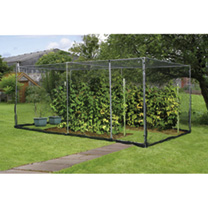 Economy Fruit Cage with Zip Net - Galvanised