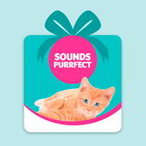 Pet Saving Gift - Sounds Purrfect