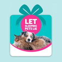 Pet Saving Gift - Let Sleeping Dogs Lie