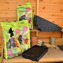 Sow & Grow Compost and Trays