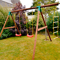 Riga Little Tikes Swing Set & Ladder