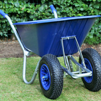 Cruiser Poly duo Wheel Wheelbarrow