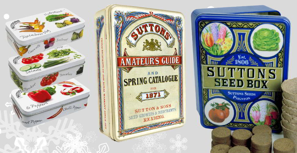 collectible seed tins