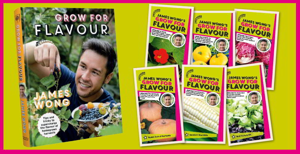 james wong grow for flavour book seeds