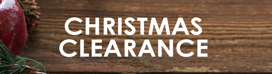 View our amazing Christmas Clearance below