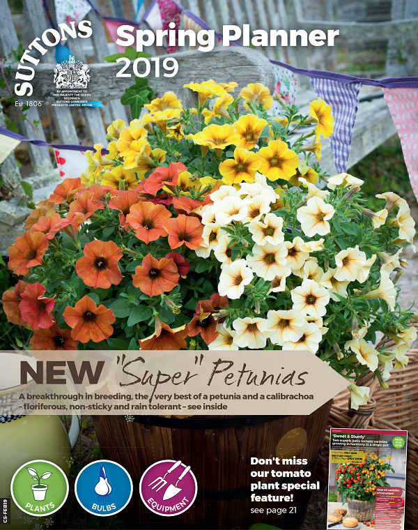 Suttons Spring Planner 2019 Catalogue Cover