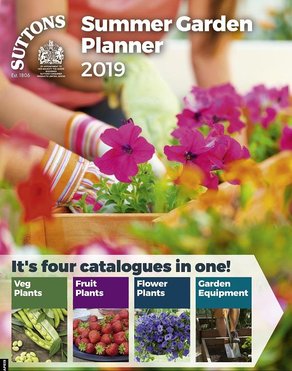 Suttons Summer Garden Planner 2019 Catalogue Cover